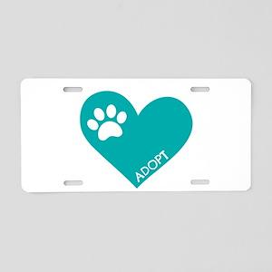 Animal Rescue Aluminum License Plate