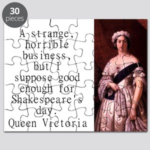 A Strange Horrible Business - Queen Victoria Puzzl