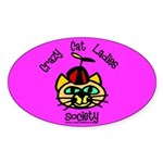 Oval Sticker - Silly CCLS Logo