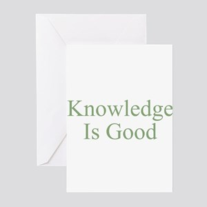 Knowledge Is Good Greeting Cards (Pk of 10)