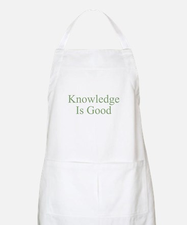 Knowledge Is Good BBQ Apron
