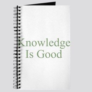 Knowledge Is Good Journal