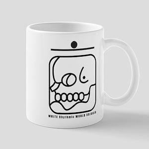 WHITE Rhythmic WORLD BRIDGER Mug
