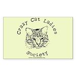 Rectangle Sticker - Sporty CCLS Logo