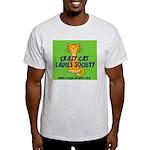 Grey T-Shirt - Wallaby CCLS Logo