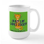 Large Mug - Wallaby CCLS Logo