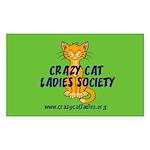 Rectangle Sticker - Wallaby CCLS Logo