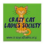 Tile Coaster - Wallaby CCLS Logo