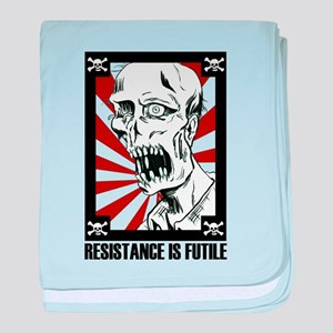 Zombie Apocalypse - Resistance is Futile baby blan