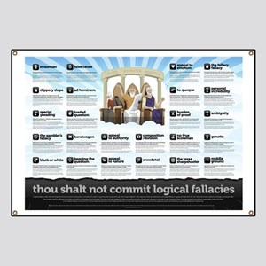 Religious Logical Fallacies Banner