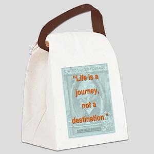 Life Is a Journey - Ralph Waldo Emerson Canvas Lun