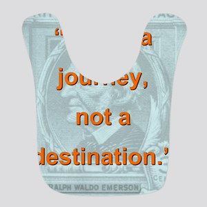 Life Is a Journey - Ralph Waldo Emerson Polyester