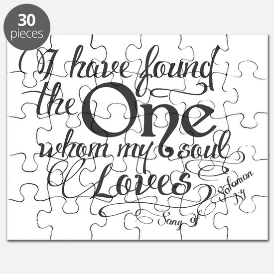 Song of Solomon Puzzle