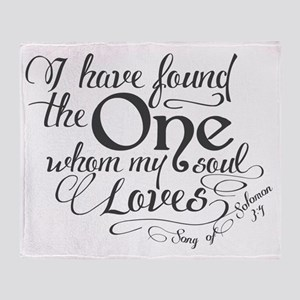Song of Solomon Throw Blanket