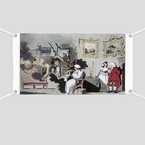 The Hypochondriac, satirical artwork - Banner