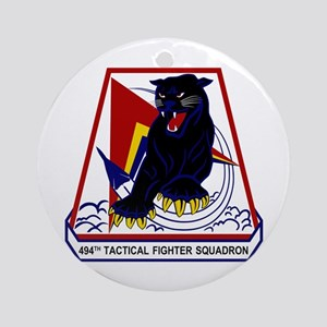 494th TFS Ornament (Round)