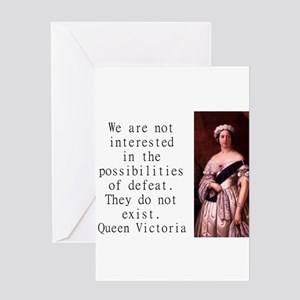 We Are Not Interested - Queen Victoria Greeting Ca