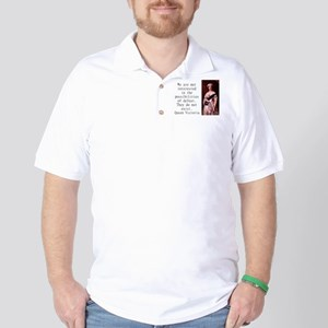 We Are Not Interested - Queen Victoria Polo Shirt