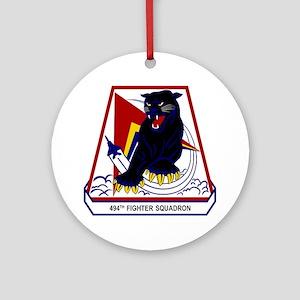 494th FS Ornament (Round)