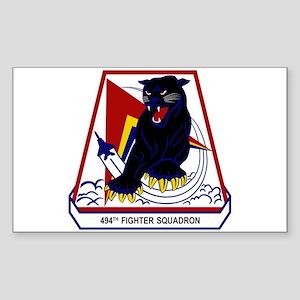 494th FS Sticker (Rectangle)