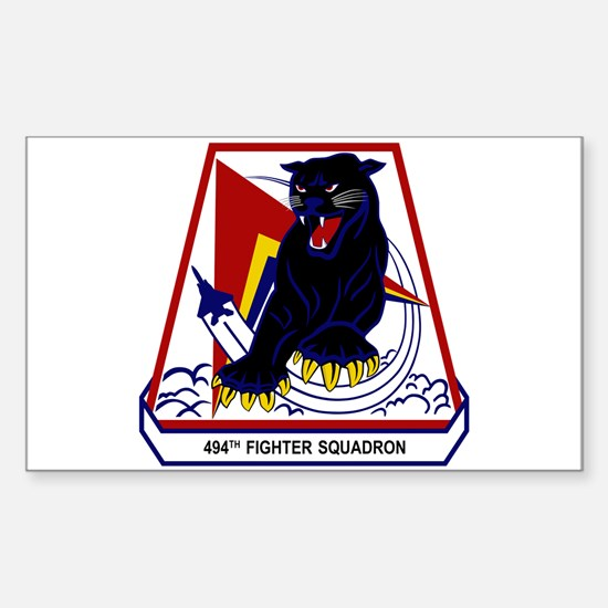 494th FS Sticker (Rectangle)