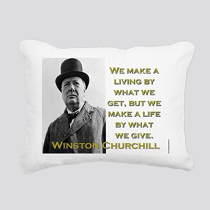 We Make A Living By What We Get - Churchill Rectan