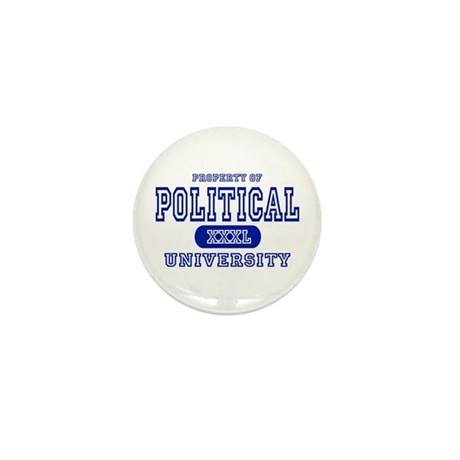 Political University Mini Button