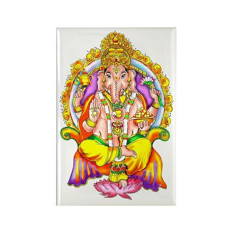 Ganesh Rectangle Magnet (10 pack)