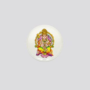 Ganesh Mini Button