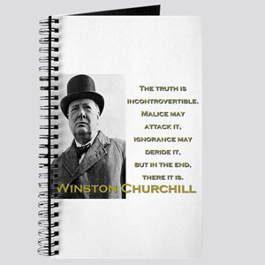 The Truth Is Incontrovertible - Churchill Journal