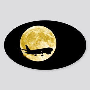 st a full moon - Sticker (Oval 10 pk)