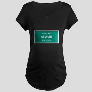 Alamo, Texas City Limits Maternity T-Shirt