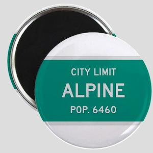 Alpine, Texas City Limits Magnet