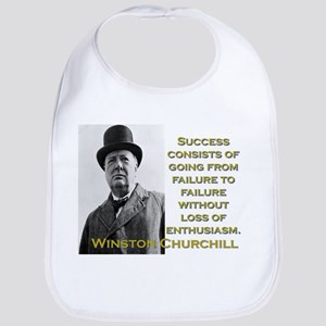 Success Consists Of Going - Churchill Cotton Baby