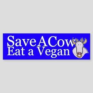 Save a Cow bumpersticker