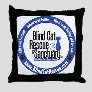 Support BCR Throw Pillow
