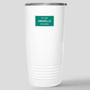 Amarillo, Texas City Limits Travel Mug