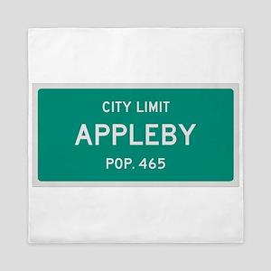 Appleby, Texas City Limits Queen Duvet