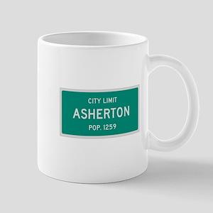 Asherton, Texas City Limits Mug