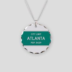 Atlanta, Texas City Limits Necklace