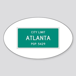 Atlanta, Texas City Limits Sticker