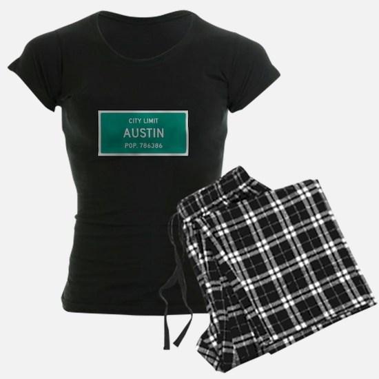 Austin, Texas City Limits Pajamas