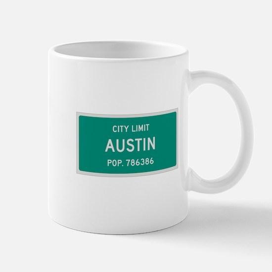 Austin, Texas City Limits Mug