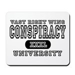 Right Wing Conspiracy University Mousepad