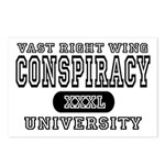 Right Wing Conspiracy University Postcards (Packag