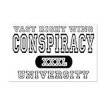 Right Wing Conspiracy University Mini Poster Print