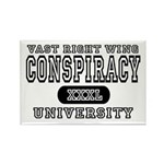 Right Wing Conspiracy University Rectangle Magnet