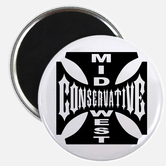 "Mid-West Conservative 2.25"" Magnet (10 pack)"