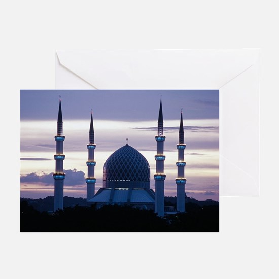 Malaysian Mosque Greeting Cards (Pk of 10)