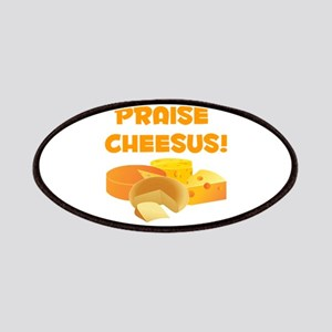 Praise Cheesus! Patches
